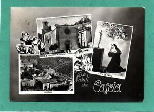 cpm Italie Saluti da CASCIA - Multi-vues (1958)
