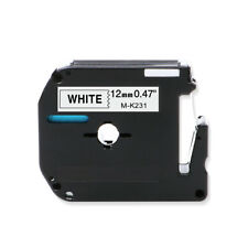 1 Pack MK231 M-K231 Compatible with Brother P-touch Label Tape Cassette 12mm x8m