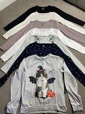 Girl Age 8-9-10 Years Long Sleeve Top Bundle H&M 7 Tops