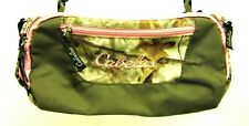 Cabela's Outdoor Gear Bag Hunting Camping Travel Brown Pink Trim Zonz Woodlands