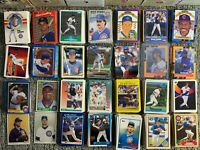 1,525 + Different Chicago Cubs Baseball Cards 1970s-2000s Rookie Stars Game Worn