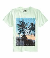 Univibe Mens La Palm Tree Graphic T-Shirt