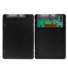"""Mini PCI-E mSATA SSD to 2.5"""" SATA 3 Adapter Card w/ 7mm Thickness Case Aluminium"""