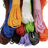 100FT Parachute Cord Mil Spec Type III Paracord 7 Strands Cores Lanyard Rope