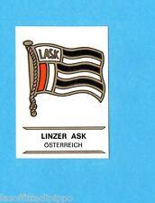 FOOTBALL CLUBS-PANINI 1975-Figurina n.218- LINZER ASK  AUSTRIA -SCUDETTO-Rec