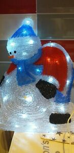 Christmas light up snowman led