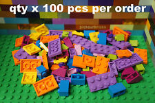 LEGO Bulk Lot Assorted Friend's Girl Colors Plates & Various Parts - 100 Pcs