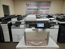 Ricoh Mp 401spf Blackwhite Copier Printer Scanner Fax Super Low Counts
