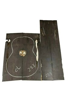 Figured African BLACKWOOD Classical Guitar Back & Side Set Luthier Tonewood #233