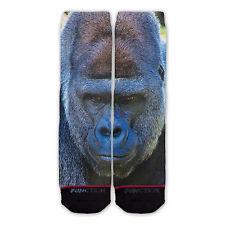 Function - Gorilla Face Fashion Socks gorilla giraffe striped fur odd sox stance