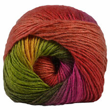 Riot DK Double Knit Knitting Yarn King Cole 100g Ball Bright Wool Acrylic Mix Reggae (1842)