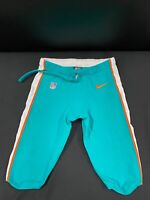 #29 MIAMI DOLPHINS NIKE GAME USED AQUA CURRENT STYLE PANTS 2019/2020 SEASON