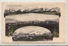 33859- Gruß aus Seeg Landkreis Ostallgäu Künstler Ak Eugen Felle 1912