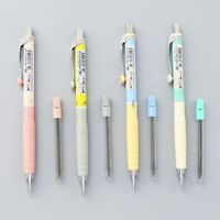 1Set Mechanical Pencil + 0.3mm Pencil Refill Plastic Stationery Student Supplies