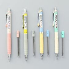 New 1set 0.3mm Cute Colorful Plastic Mechanical Pencil Simple Automatic Pencil