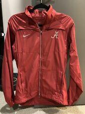 Women's Nike Alabama Crimson Tide Windbreaker Jacket Size Small Cute!