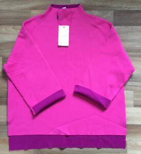Marks and Spencer Autograph Ladies Funnel Neck Jumper Size 14