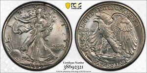 1929 S Walking Liberty SILVER Half Dollar PCGS MS64 50C GOLD SHIELD MS UNC BU