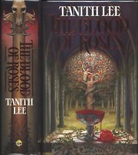 The Blood of Roses Tanith Lee HC 1st/1st Signed 1990