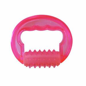 Massagestriegel mit PVC Griff