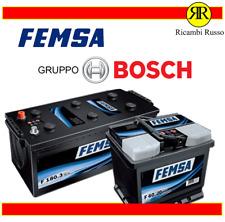 BATTERIA AUTO FEMSA 100Ah 830A POS. (DX) 'BY BOSCH' (0092S50130) LUNGO MERCEDES