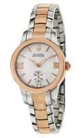 Swiss Made Bulova Accutron 65L104 Masella Two Tone Stainless Steel Ladies Watch
