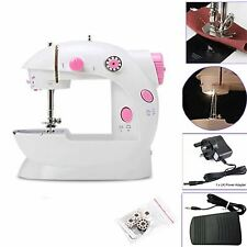 Mini Sewing Machine With Double Threads and Two Speed Control Foot Pedal LED