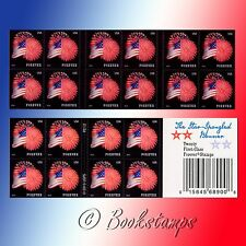 20 Fireworks Forever Postage Stamps US Flag Stars July Fourth Independence Day