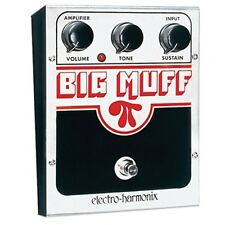 Electro-Harmonix USA Big Muff Pi Distortion/Sustainer Guitar Effect Pedal