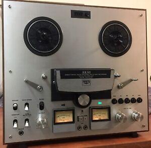 AKAI GX 265D Reel To Reel Tonbandgerät Tape Deck guter Zustand