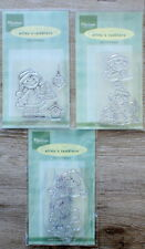3 Clear stamps (stempels) Marianne Design Alin`s toddlers