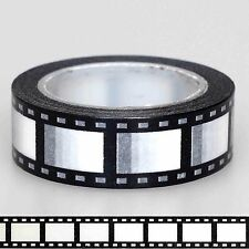 Movie Reel Film Camera Washi Tape Craft Scrapbooking Self-Adhesive 10m / Roll