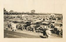 "Photograph, ""The Crowd At Indianapolis Motor Speedway, May 30, 1930"" Indiana IN"