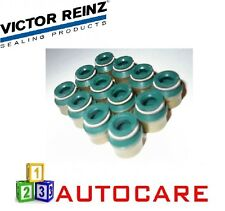 12x Victor Reinz Valve seals 7mm For Volvo S40 VW Golf 2.0TDI