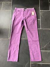 Paul Smith violet bouton FLY Chino style jean pantalon 32 R