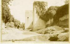Linares. Espagne, Granada, Alhambra, Torres del Cadi Vintage print.  Tirage ci