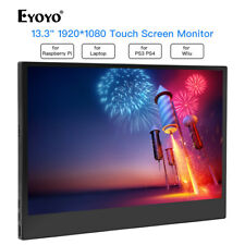 """13.3"""" 1920*1080 10 Point Touch Screen Gaming Monitor for PC Laptop PS3 PS4 Gamer"""