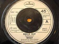 "TWIGGY - VANILLA OLAY  7"" VINYL"