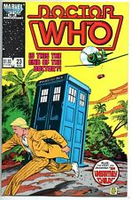 Doctor Who 23      Marvel 1986