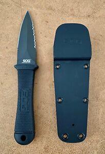 SOG Pentagon Mini Combo Edge knife
