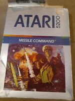 MISSILE COMMAND for ATARI 5200 ▪︎ COMPLETE IN BOX ▪︎ FREE SHIPPING ▪︎