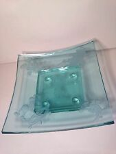 Limited Edition Fantasia Sorceror Mickey Glass Display Bowl Guenther Luna #46/75