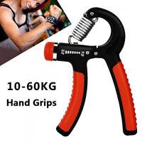 Hand Grip Strength Power Trainer Gripper Strengthener Adjustable  Exerciser Gym