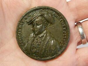 EDWARD VI Dassier Later Medal Pewter White Metal #K63