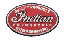 NEW INDIAN MOTORCYCLES Logo MOTOR AUTO Logo embroidered Badge Patch A