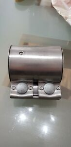 Genuine VW Exhaust Pipe Clamp 65 x 88mm 1K0253141AA - NEW fits many vehicles