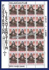 Postfrische Briefmarken aus Liechtenstein mit Religions-Motiv