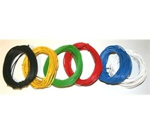 10m 16/0.2mm Stranded Equipment Wire - Choice of  Colours - Layout - Connecting