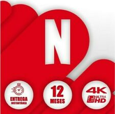 NETFLIX 1 AÑO (𝟏𝟐 𝐌𝐄𝐒𝐄𝐒) 4 DISPOSITIVOS    *OFERTA NAVIDAD*