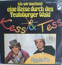 """7"""" 1981 RARE ! KESS & TESS (= FANCY ) Teutoburger Wald"""